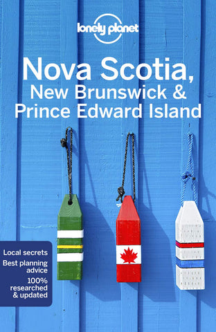 Nova Scotia, NB & PEI Lonely Planet 4e