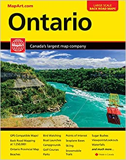Ontario MapArt Road Atlas