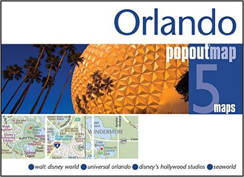 Orlando & Walt Disney World Popout Map