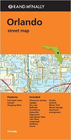Orlando Street Map Rand McNally