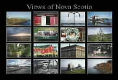 "Views of Nova Scotia Poster 27"" x 19"""