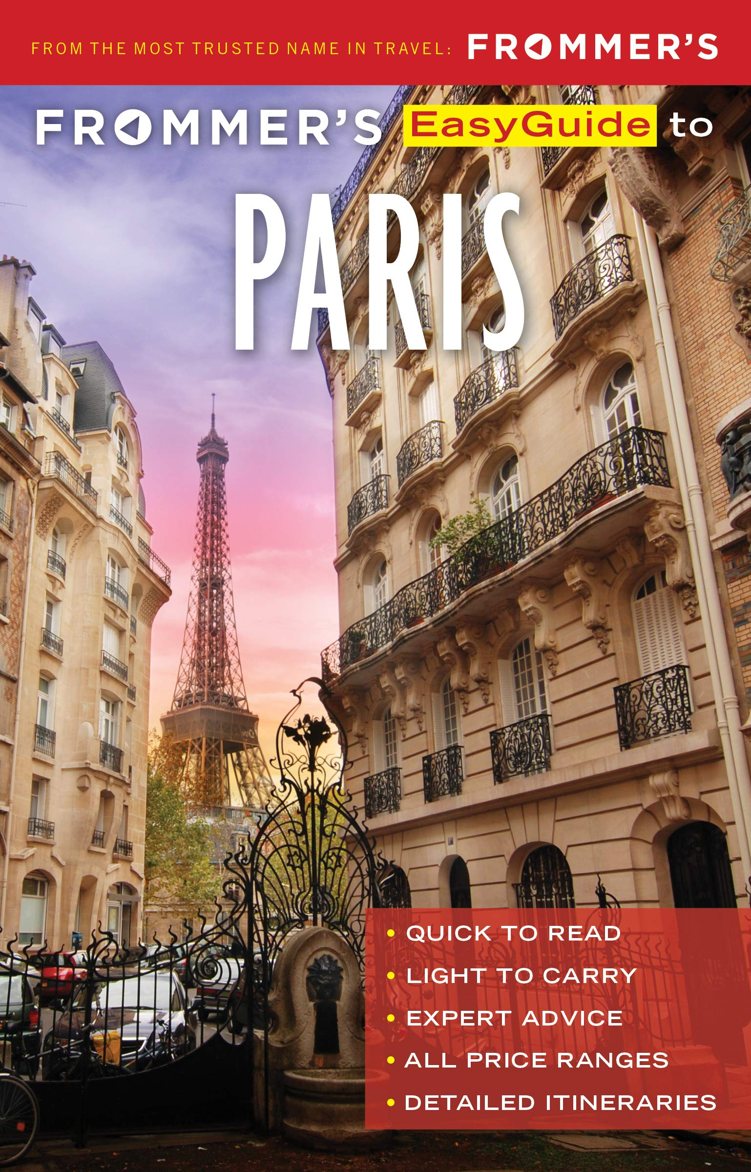 Frommer's Easy Guide to Paris 2019