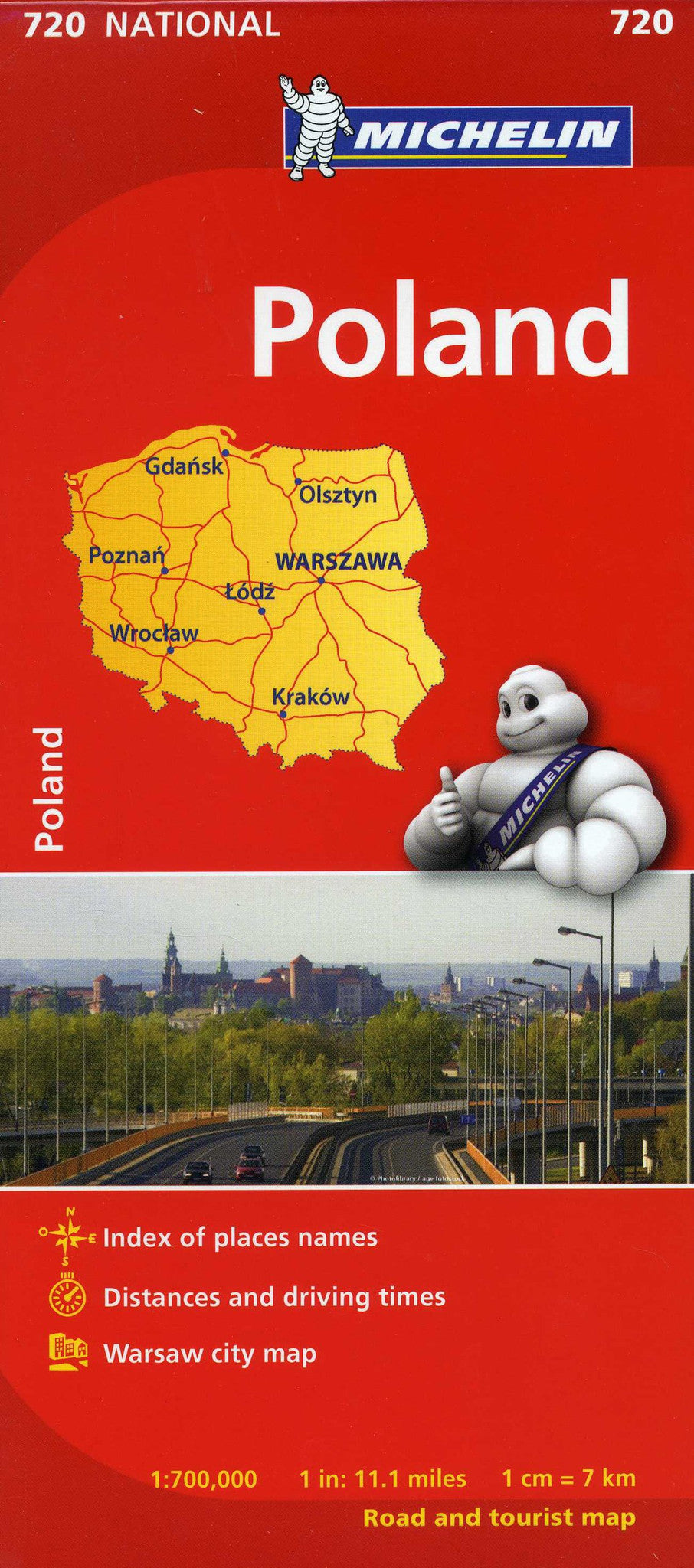 Poland Michelin Map 720