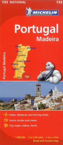 Portugal, Madeira Michelin Map 733