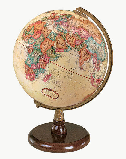 "Quincy 9"" Antique Style Globe"