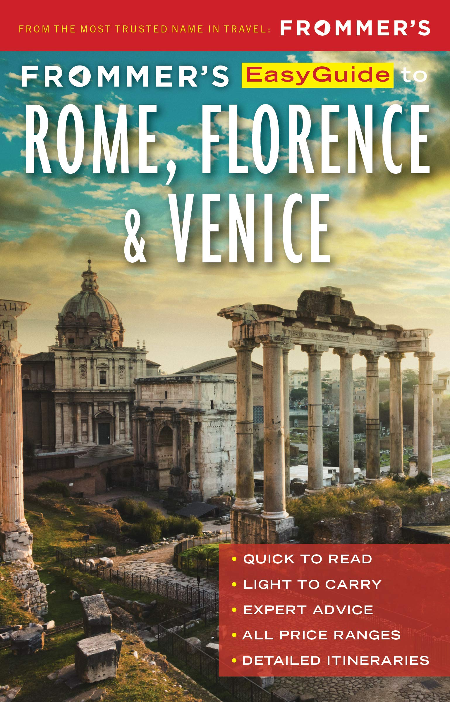 Frommer's Easy Guide Rome, Florence & Venice 2018