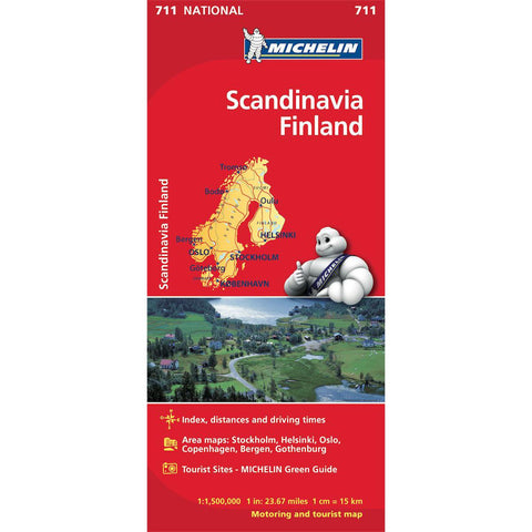Scandinavia / Finland Michelin Map 711