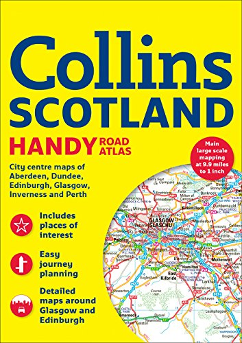 Scotland Collins Handy Road Atlas