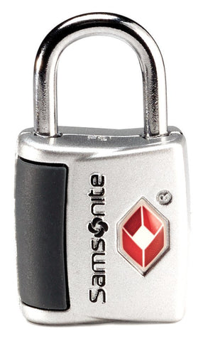Travel Sentry Key Lock 2 Pack: Silver