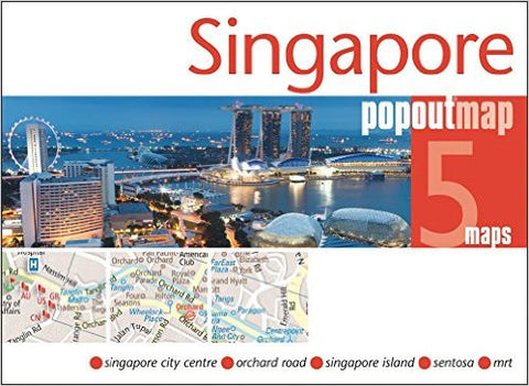 Singapore Popout Map