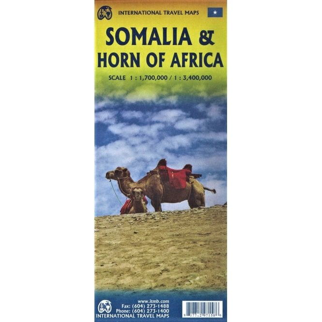 Somalia & Horn of Africa ITM Map 3e