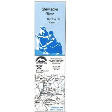 Stewiacke River. Canoe/Kayak Map