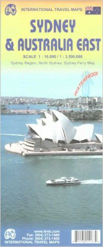 Sydney & Australia East ITM Travel Map