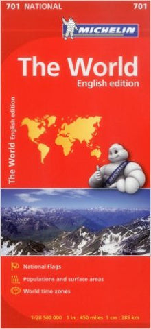 The World Michelin Map 701