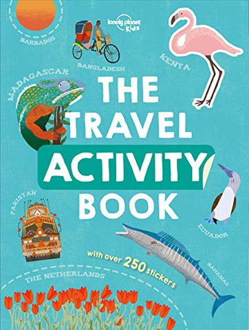The Travel Activity Book Lonely Planet Kids 1e