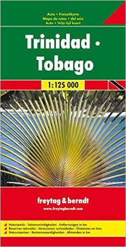 Trinidad & Tobago F&B Travel Map