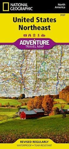United States Northeast Travel Map