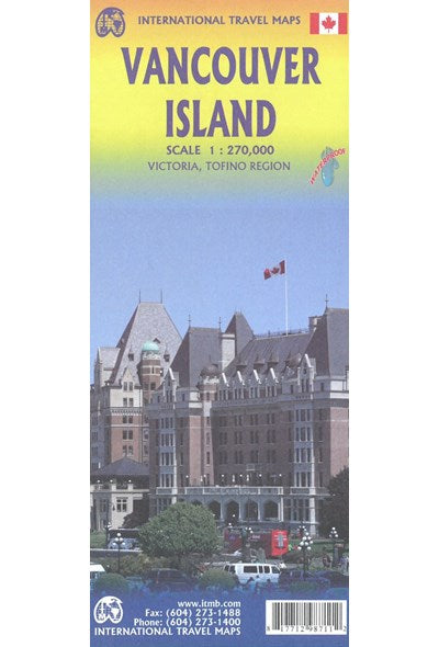 Vancouver Island ITM Travel Map