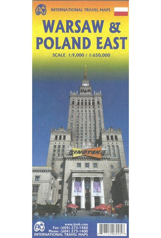 Warsaw & Poland East ITM Map 2e
