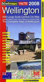 Wellington City Map Kiwimaps
