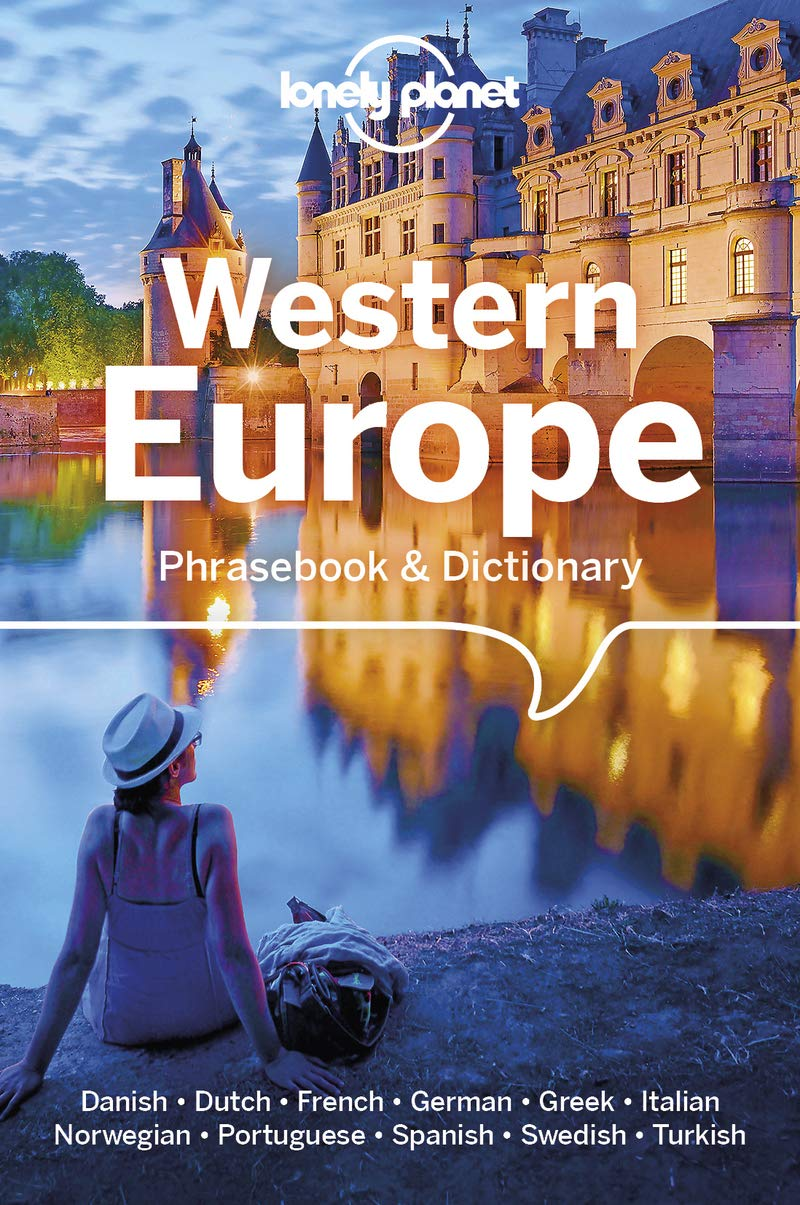 Western Europe Lonely Planet Phrasebook 6e