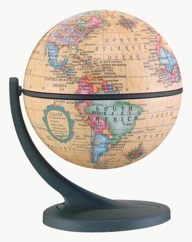 Wonder Globe: Antique Ocean 4.5""