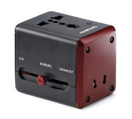Worldwide Power Adapter with USB