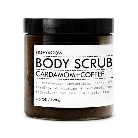 CARDAMOM+COFFEE BODY SCRUB by Fig and Yarrow
