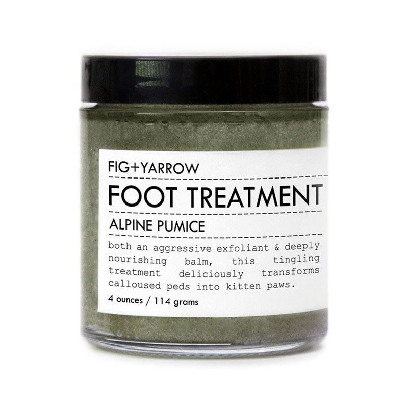 ALPINE PUMICE FOOT TREATMENT - Fig and Yarrow