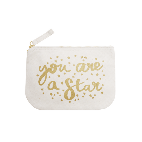 Clutch or makeup bag
