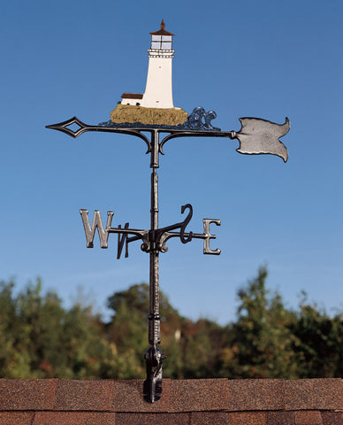 "30"" Lighthouse Rooftop Weathervane"