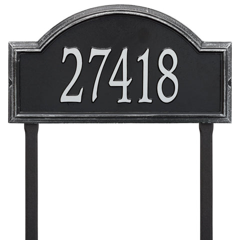 Providence Arch Estate Lawn Address Plaque One Line