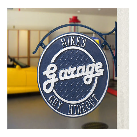 Personalized Garage Plaque