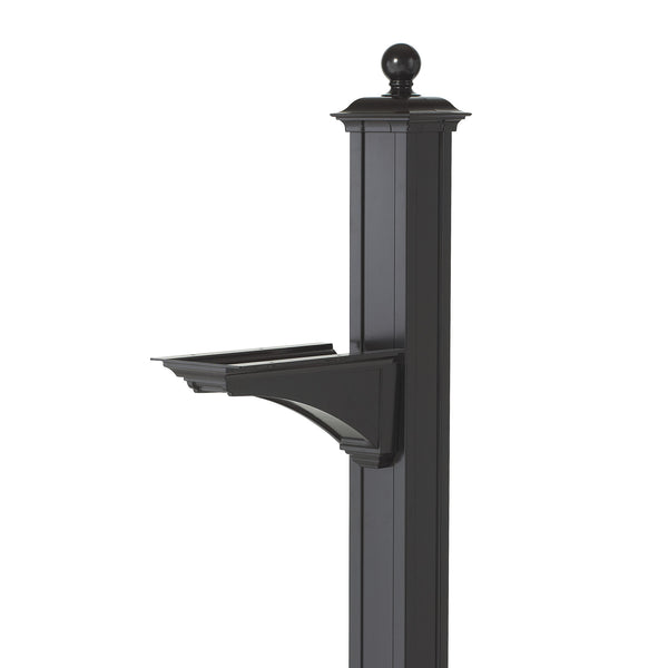 Balmoral Post & Bracket w/ Ball Finial