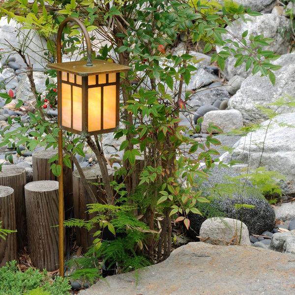 Craftsman Lantern Light - Flat Roof - Hanging