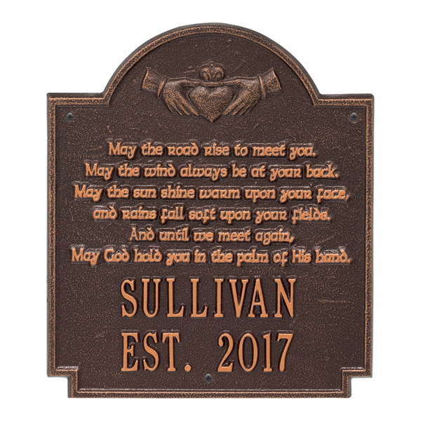 Claddagh Poem Plaque