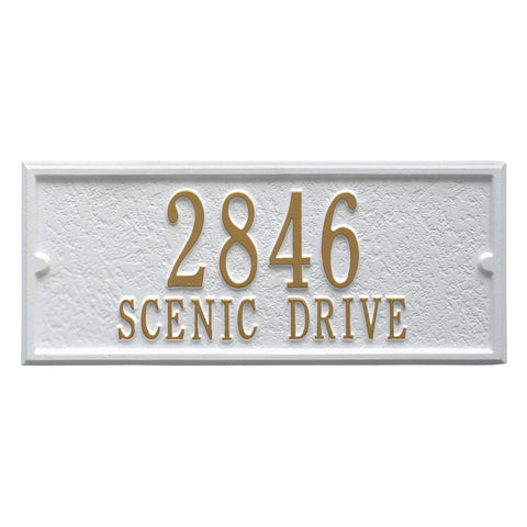 Balmoral Personalized Side Plaque
