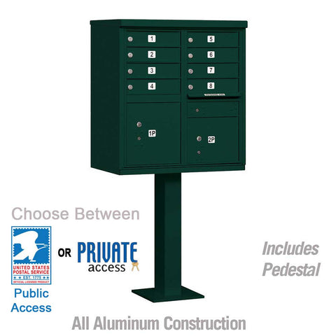 "Cluster Box Units (CBU) - 8 to 16 ""A"" Size Doors"