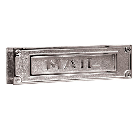 Mail Slot Deluxe Solid Brass
