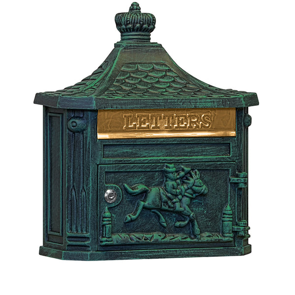 Victorian Mailbox Surface Mounted