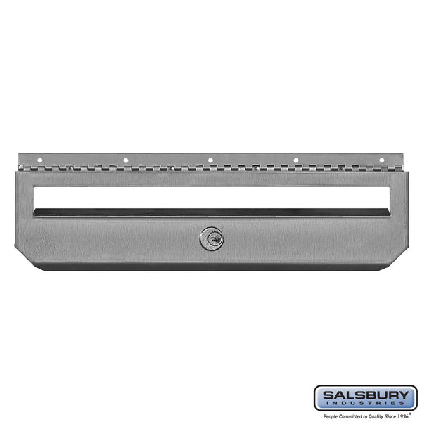 Security Kit Option Stainless Steel Mailbox Horizontal Style with 2 Keys