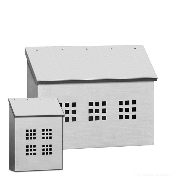 Stainless Steel Mailbox Surface Mounted