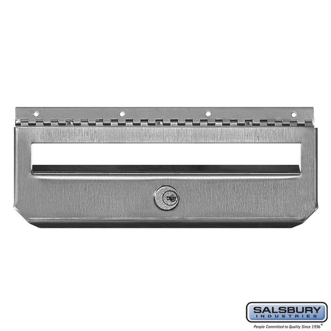 Security Kit Option Stainless Steel Mailbox Vertical Style with 2 Keys