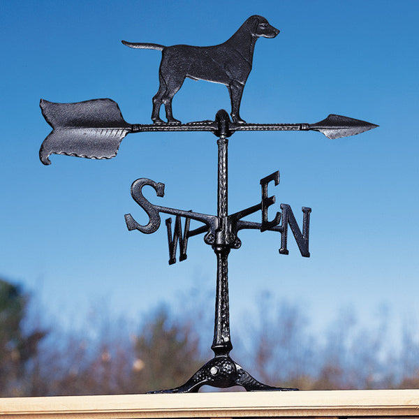"24"" Retriever  Accent Rooftop Weathervane"