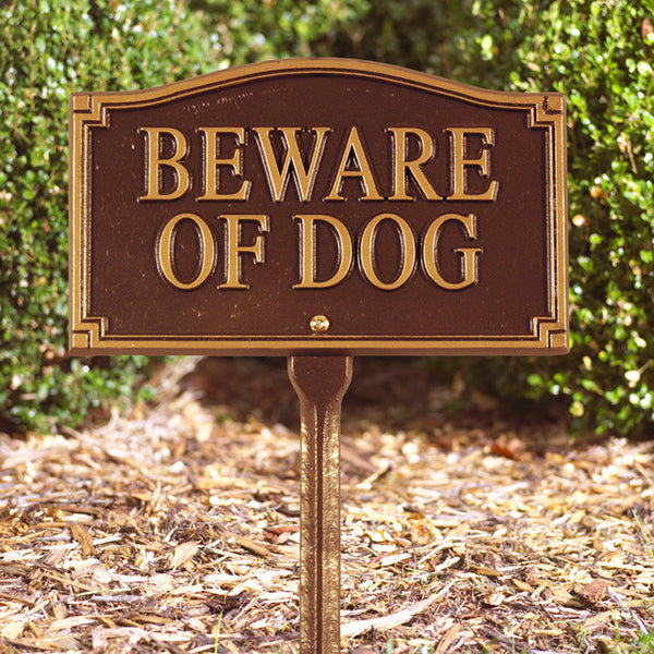 """Beware of Dog"" Statement Marker"