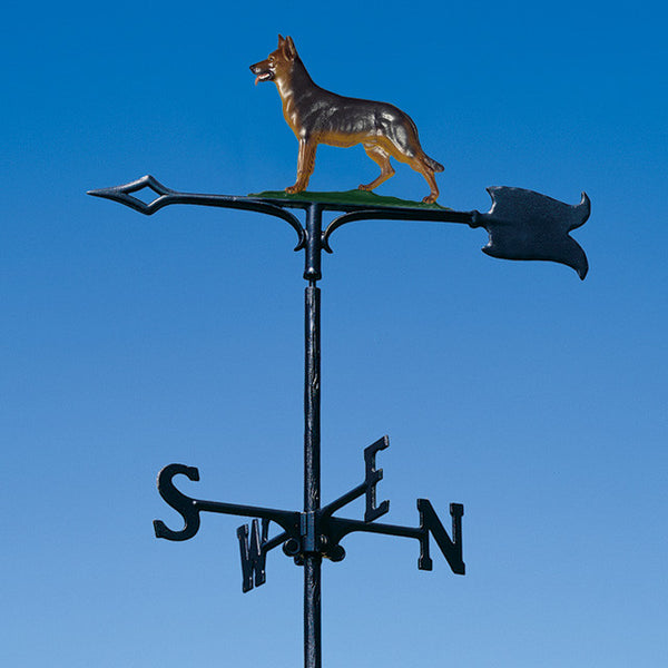 "30"" German Shepherd Garden Weathervane"