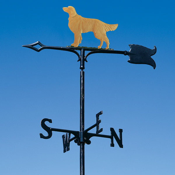 "30"" Golden Retriever Garden Weathervane"