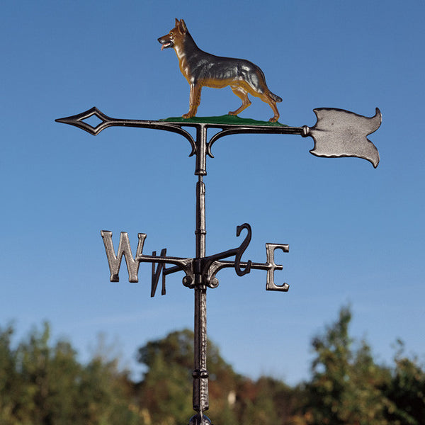 "30"" German Shepherd Rooftop Weathervane"