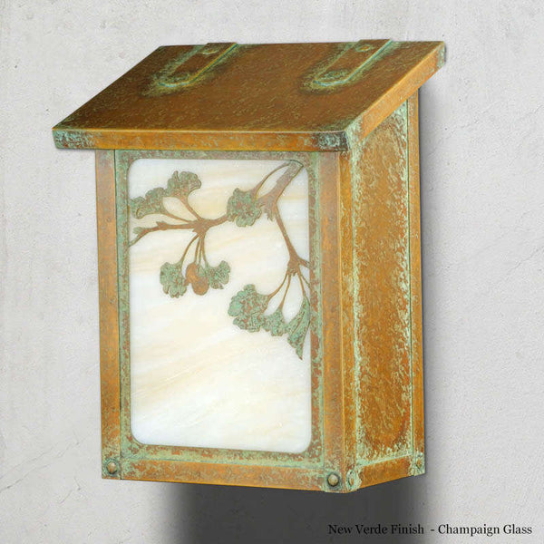 Ginkgo Wall Mounted Mailbox - Vertical