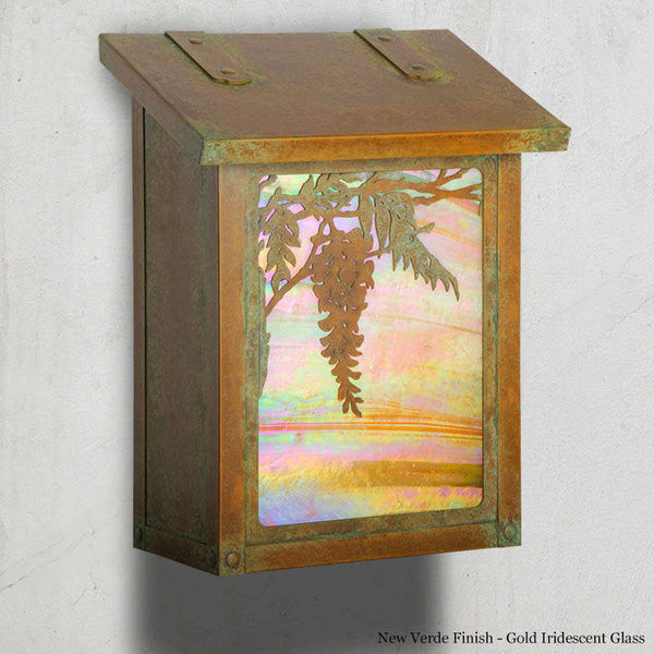 Wisteria Wall Mounted Mailbox - Vertical